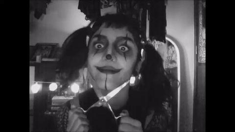 scary clown makeup | Tumblr