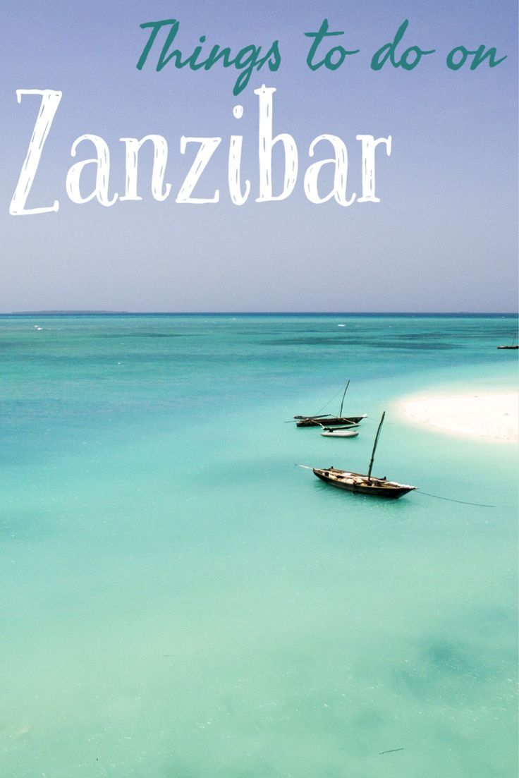 Looking for the best places to visit, eat and stay at on Zanzibar? Check it out!