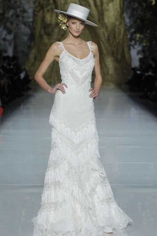 es tendencia: baile de flecos | wedding dresses | pinterest