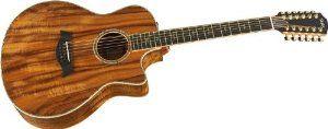 neat 12 string guitar Taylor K66ce Koa, Grand Symphony, 12 String, Koa Top, CE