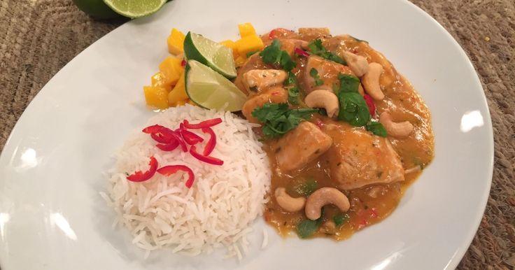Wenche drømmer seg til Thailand. Derfor lager hun i dag en Thai-inspirert kyllingwok.