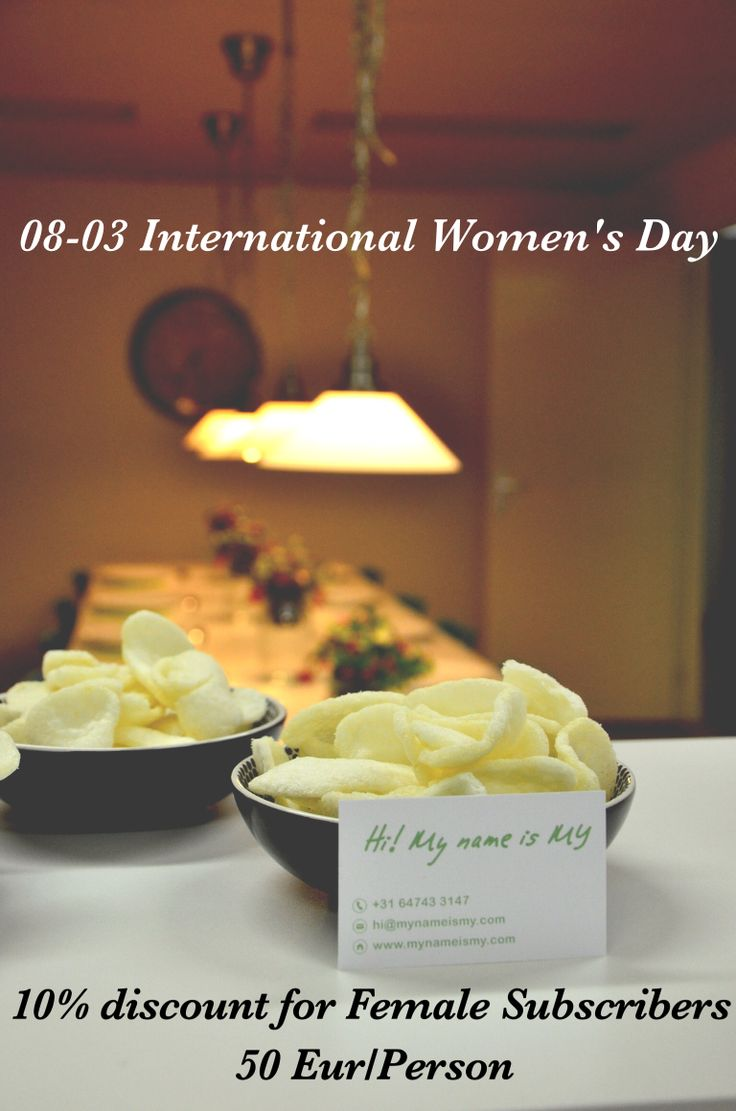 Let's celebrate International Women's Day in a special way. Join the Vietnamese cooking workshop for lot of fun. More details at http://mynameismy.com/blog/?cat=49