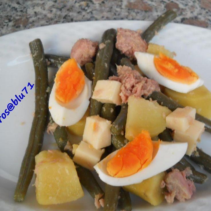Ricetta Insalata di Fagiolini (Pic Nic) pubblicata da rosablu71 - Questa ricetta è nella categoria Piatti unici