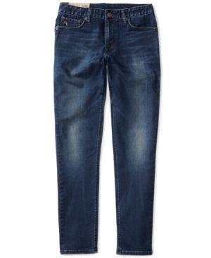 Ralph Lauren Skinny Fit Jeans, Big Boys (8-20) - Robbins Wash 14