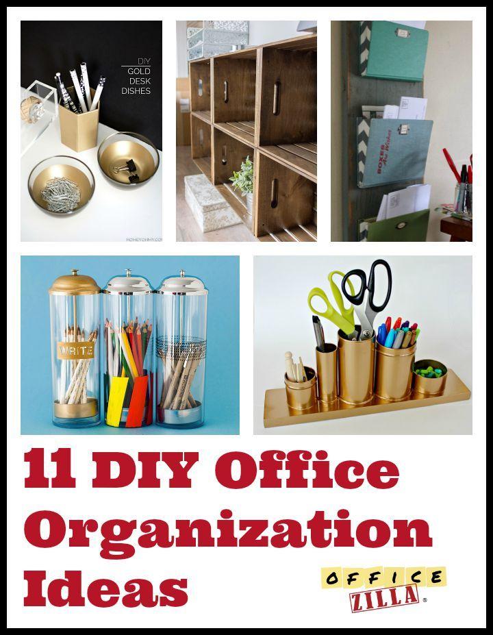 138 best get your office organized images on pinterest organization ideas desks and. Black Bedroom Furniture Sets. Home Design Ideas