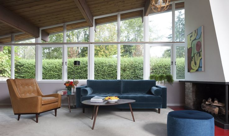 Dwell - Styling a Rescued Mid-Century Gem