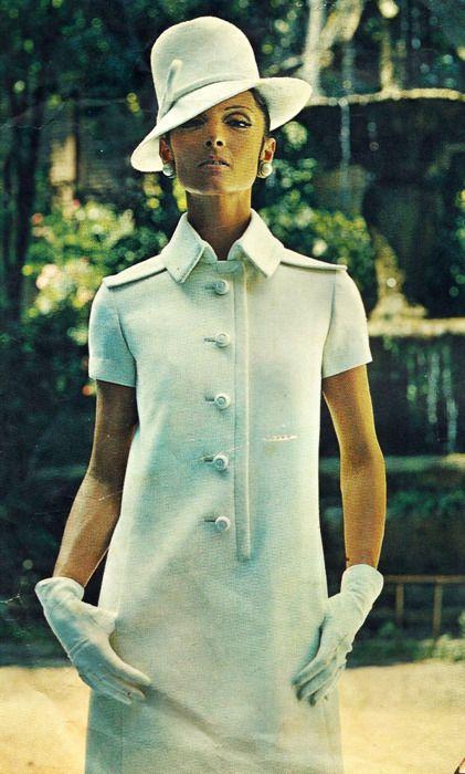 Vintage 60s Vogue Couturier FABIANI Dress Sew Pattern 1866 B32/10 UNCUT