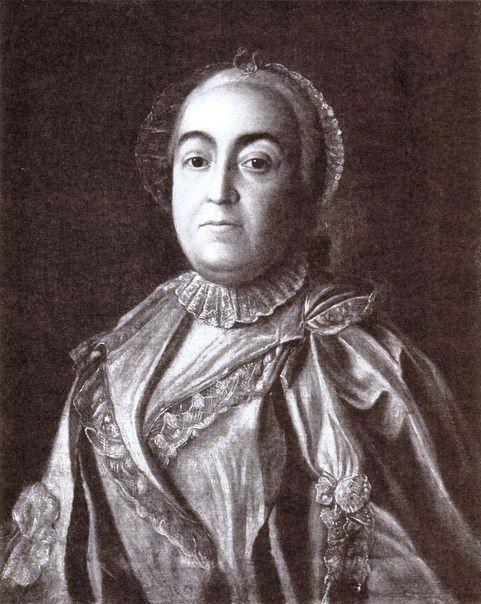 Кн. Мария Михайловна Прозоровская, ур. кнж. Голицына (1717 – 1780), дочь кн. М. М. Старшего Голицына (1675 – 1730) и Т. Б. Куракиной (1696 – 1758), жена генерал-аншефа И. А. Прозоровского (1712 – 1786).