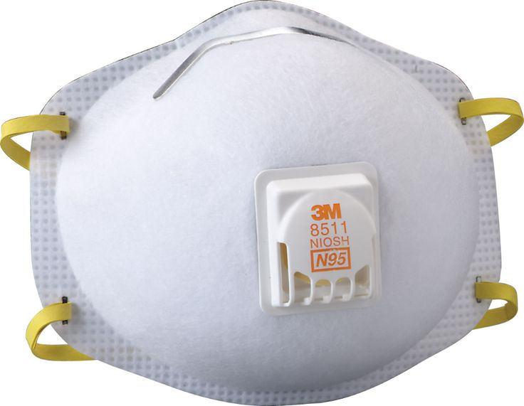 3m 8511 n95 particulate respiratordust mask easy breath