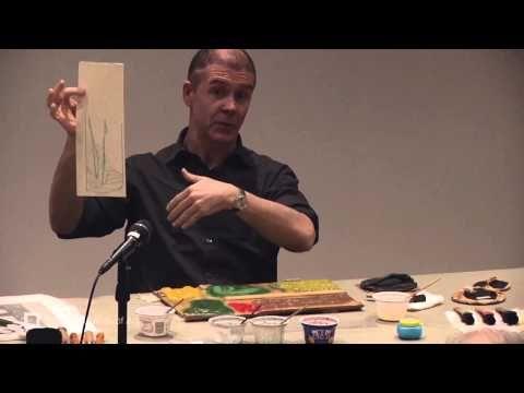 Japanese Woodblock Printing with Paul Binnie - YouTube