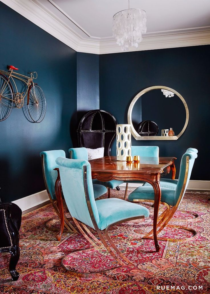 Best 25+ Blue Dining Rooms Ideas On Pinterest