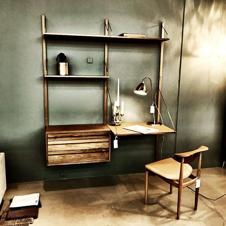 ROYAL SYSTEM shelving. Poul Cadovius 1948. We still produce it right here in Denmark. The picture was taken @haus.dk  #dk3 #royalsystem #poulcadovius #1948 #madeindenmark #haus  www.dk3.dk