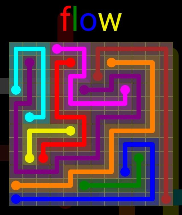Flow Extreme Pack 2 - 12x12 - level 19 solution