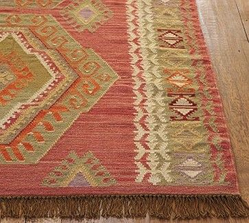 kalimrug | Diamond Kilim Rug mediterranean rugs