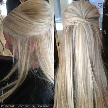 #Hairstyle #halfup