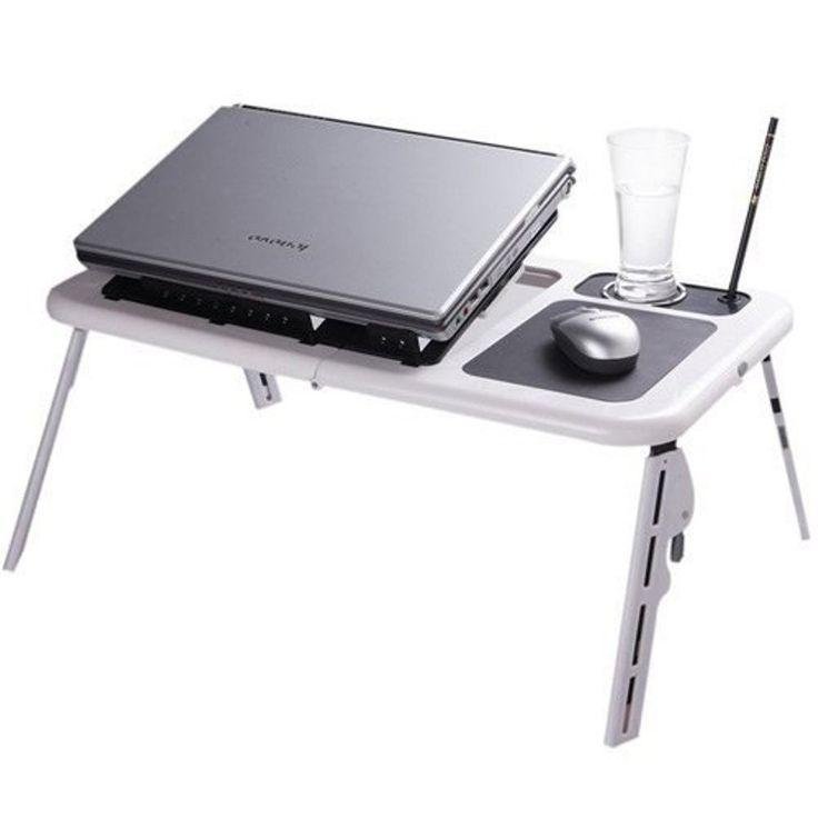 Mesa P/computador Notebook Portátil Dobrável Cooler - R$ 49,90 no MercadoLivre