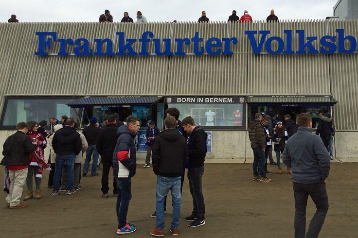 FSV Frankfurt - 1. FC Kaiserslautern 2:0, 22.2.2015 #ZweiteBundesliga