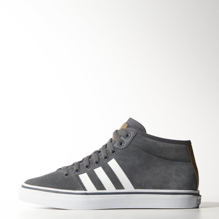 These women's Adria Restyle Mid shoes do justice to a favorite adidas look.  Clean styling in suede with printed a synthetic leather heel strap and a  vulc ...