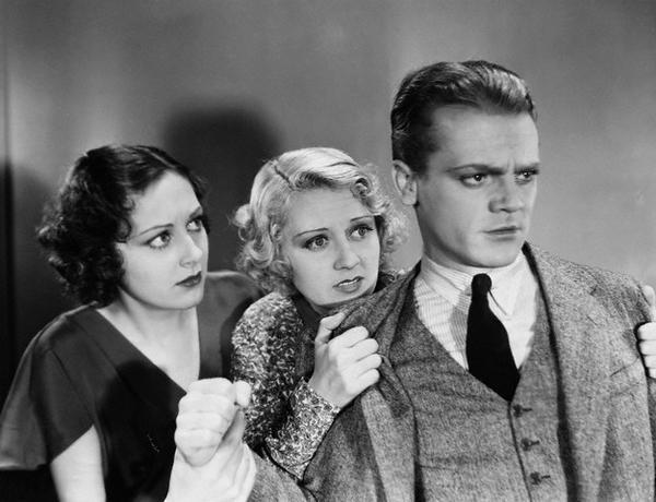 Ann Dvorak, Joan Blondell and James Cagney G-Men - (1935)