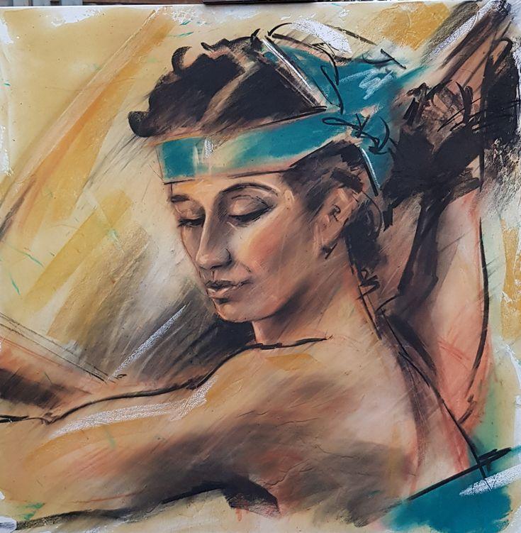 omaggio a Michelangelo | Altamiradecor, bottega d'arte di Franco Pagliarulo