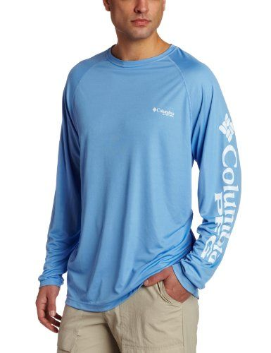 Columbia men 39 s terminal tackle long sleeve shirt large for Fishing long sleeve shirts