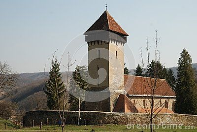 Built in the 14th century the fortified church of Malancrav preserve at the interior frescoes painted on the central nave that cover 20 meters with 53 scenes from the Old and New Testament, making it the most complete Gothic fresco in Transylvania