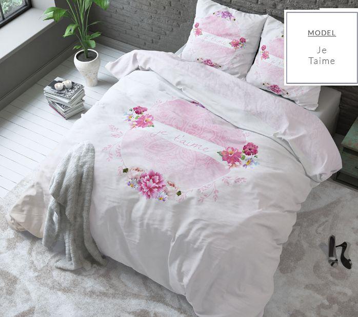 Dekoracyjna młodzieżowa pościel 200x220 na łóżko do pokoju z motywem kwiatowym