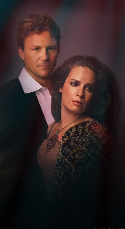 Piper and Leo (Charmed).I loved watching charmed. Please check out my website Thanks.  www.photopix.co.nz