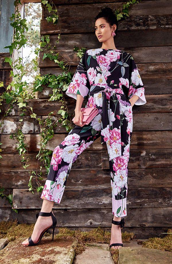d8d75d5470 Floral jumpsuit