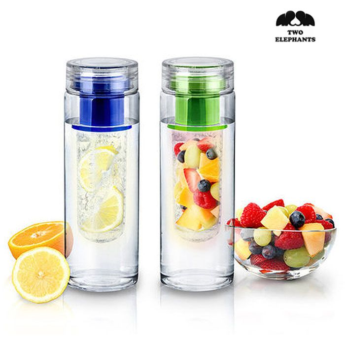 Two Elephants ® Healthy Fruit Infusion Bottle