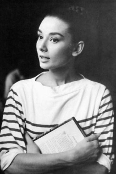 Audrey Hepburn in Stripes   Women's Look   ASOS Fashion Finder