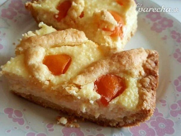 Tvarohovo-marhuľový krehký koláč