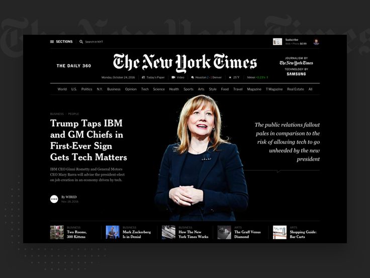 The New York Times: Shot 2 by Flatstudio