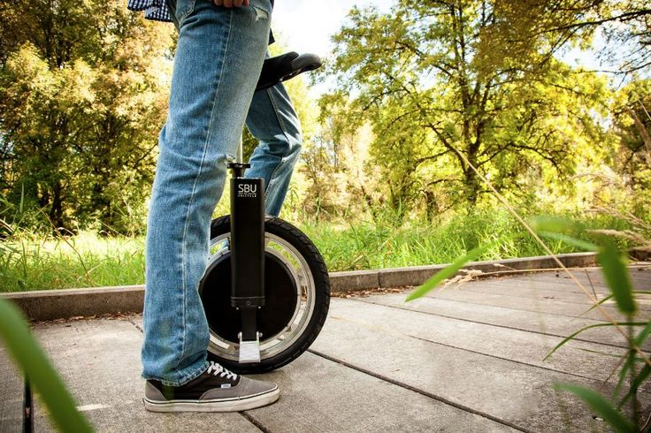 The SBU, An Electric Self-Balancing Unicycle by Focus Designs