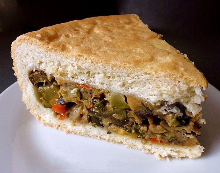Овощной пирог в духовке рецепт с фото