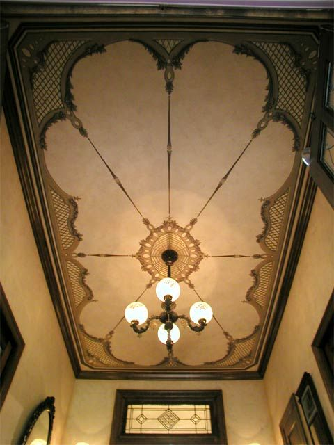 Stunning ceiling painting