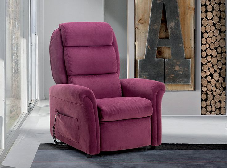 modern recliner chair viola by il benessere italy
