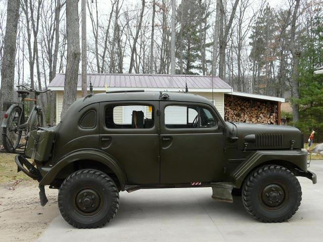 Swiss Military Volvo Sugga 4X4 radio car
