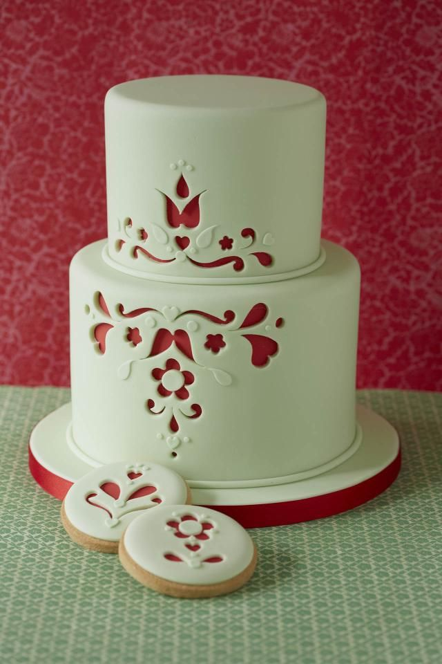 17 Best 1000 images about Cake 19 Red on Pinterest Indian weddings