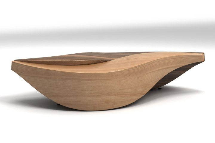 Unique wooden table by Lubo Majer table