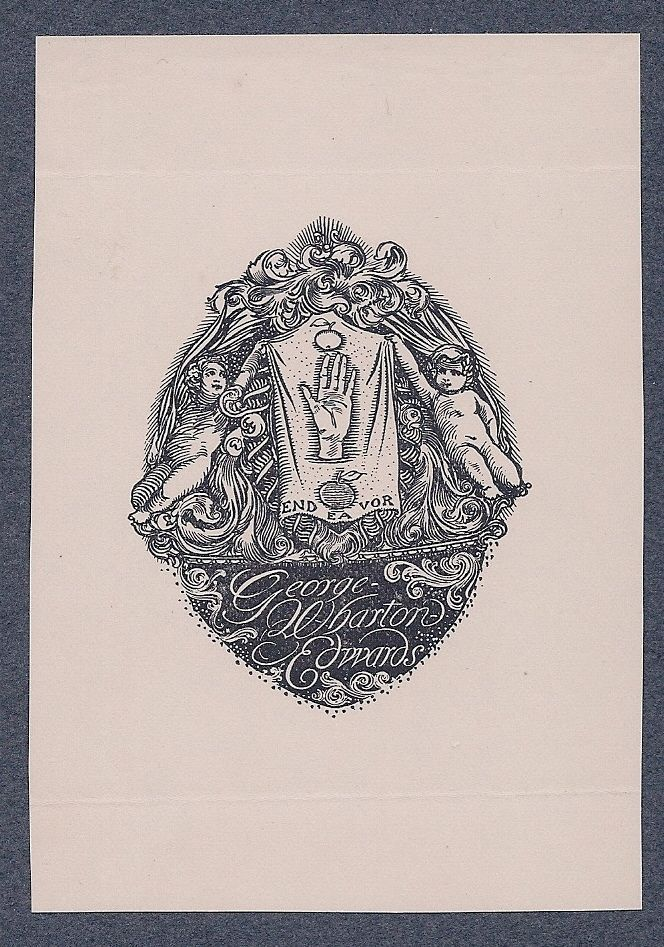 Bookplate for George Wharton Edwards by George Wharton Edwards,