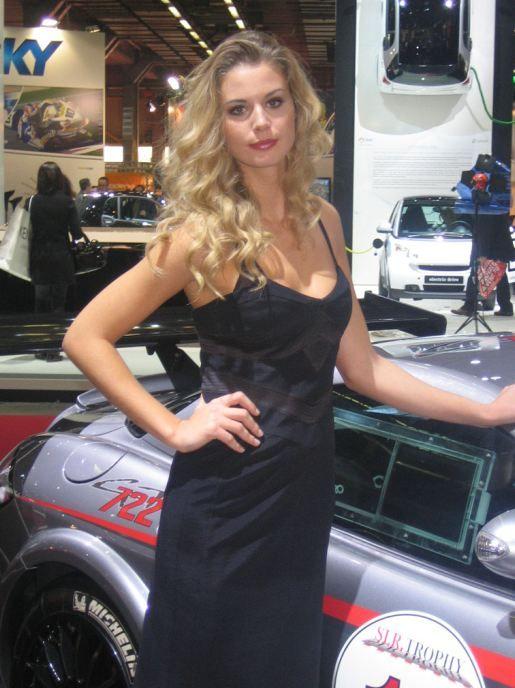Girl Motor Show Bologna 2008