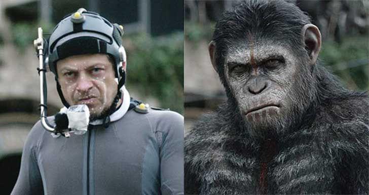 Andy Serkis/ El planeta de los simios (2011 y 2014)