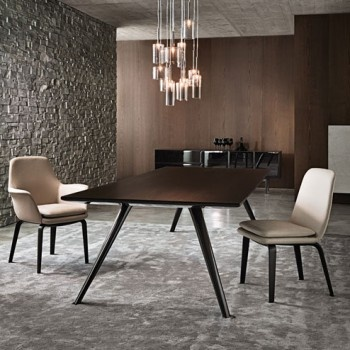 Minotti York Arm Chair (Our Dining Room Chairs  With Arms)