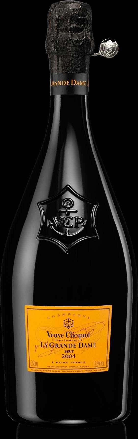 Champagne Veuve Clicquot : La Grande Dame 2004