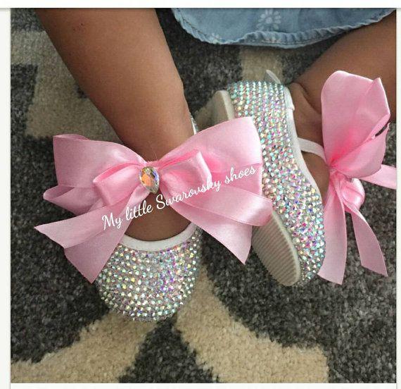 Mira este artículo en mi tienda de Etsy: https://www.etsy.com/es/listing/221904738/shoes-ballerina-baby-girls-crystal