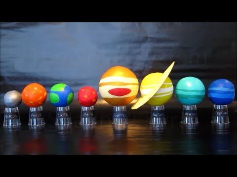 Planets In Our Solar System | DIY Science Project For Kids | Easy To Do Solar System Model - YouTube