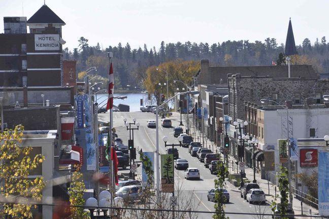 Main Street, Kenora, Ontario   My hometown!