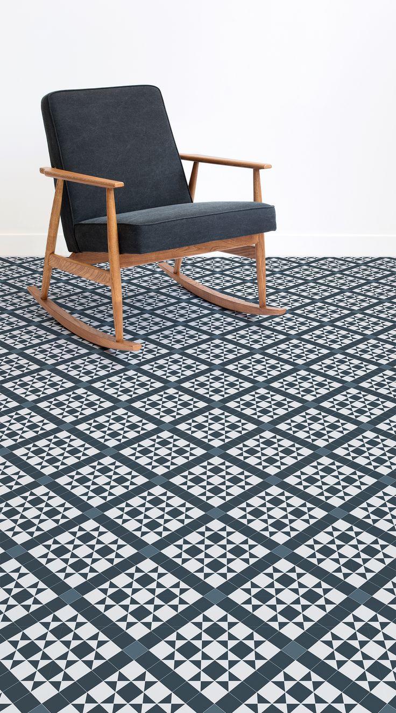 60 best tiled vinyl flooring images on pinterest floor design bond is a traditional victorian tile vinyl flooring design with deep navy latticing patterns inspired dailygadgetfo Images
