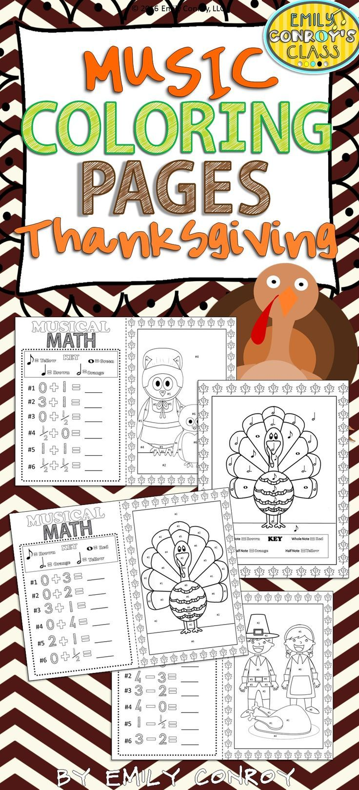 116 best thanksgiving music lessons images on pinterest music